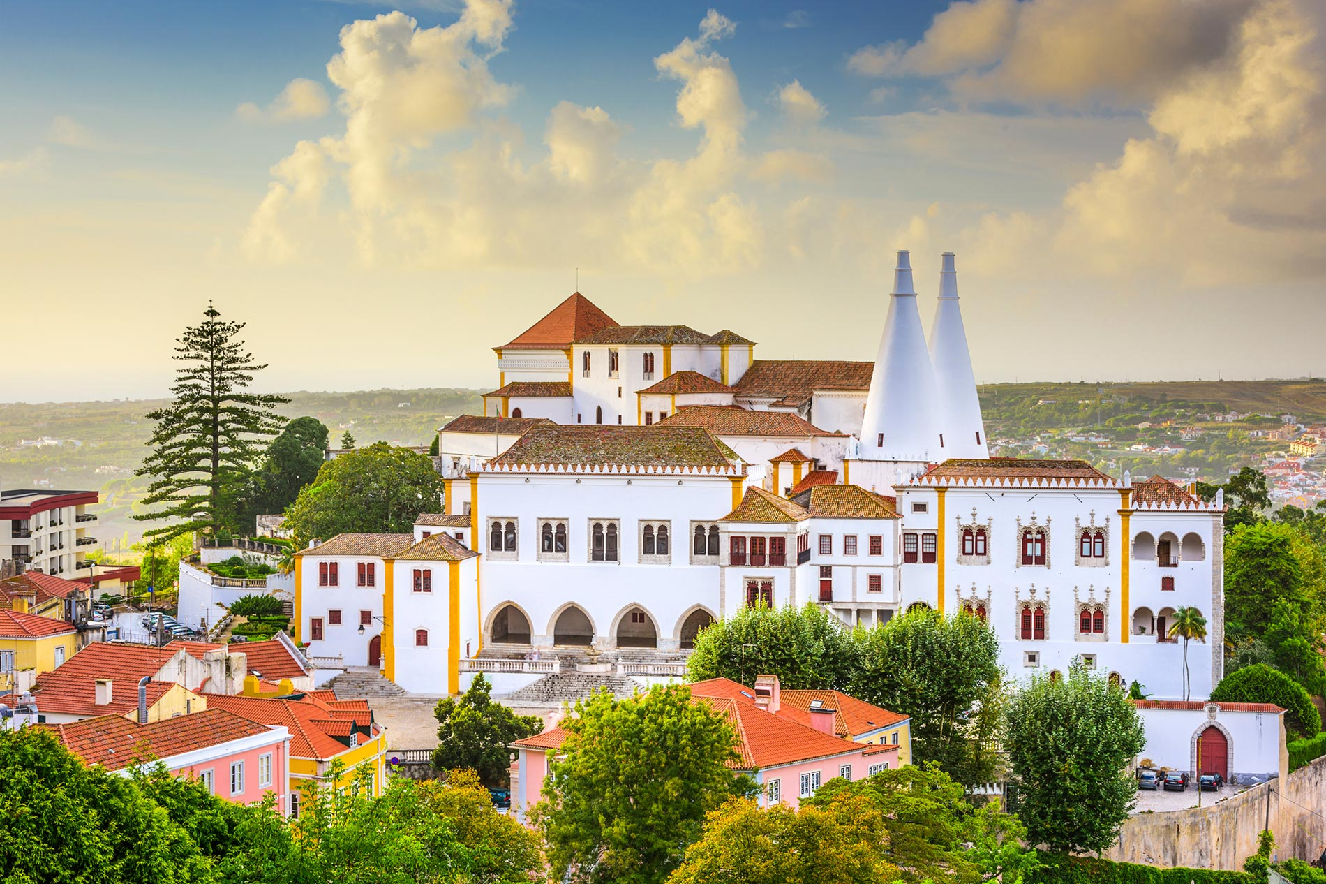 The oddly beautiful architecture of Sintra - Lisbon, Portugal