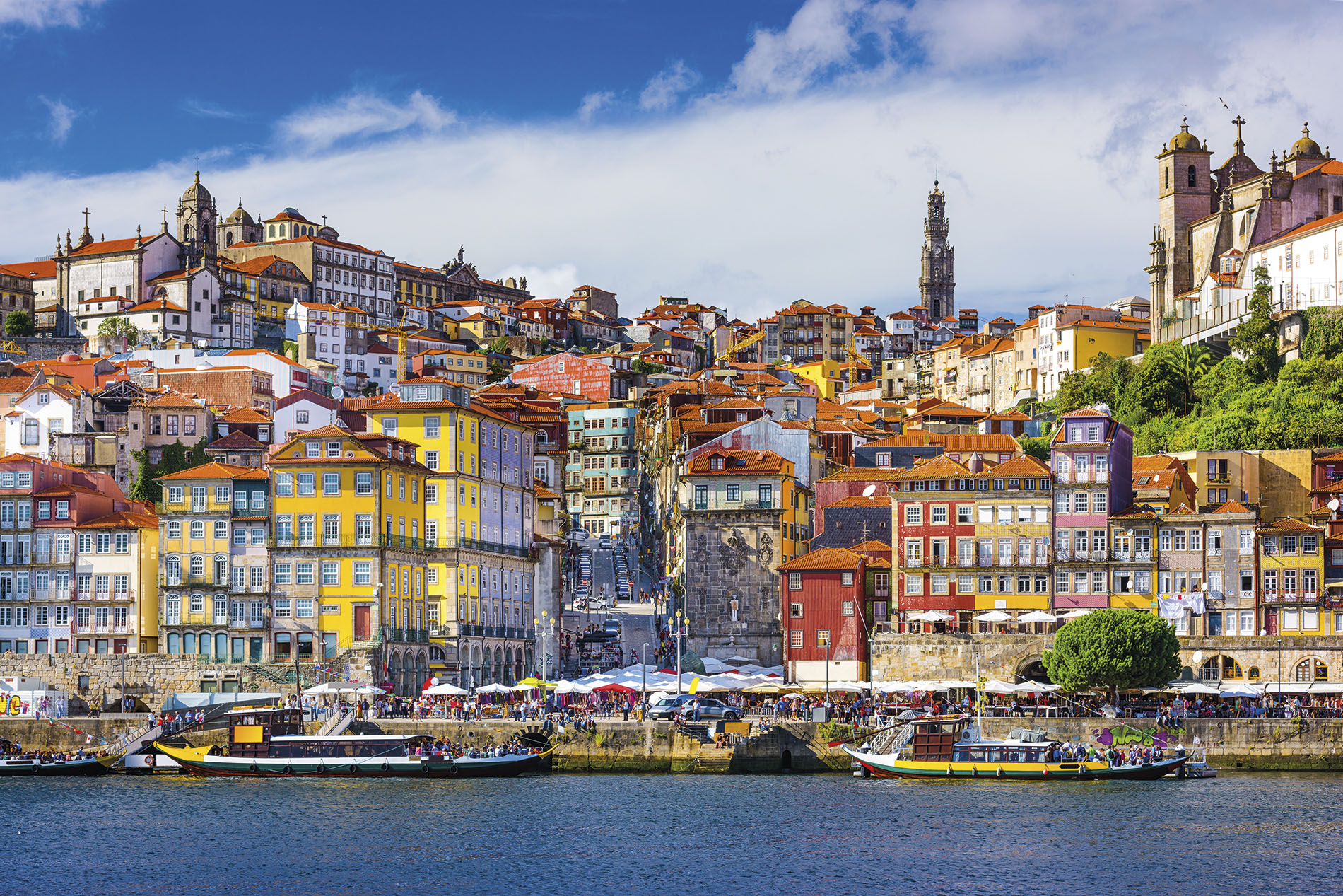 The charming city of Porto, Portugal