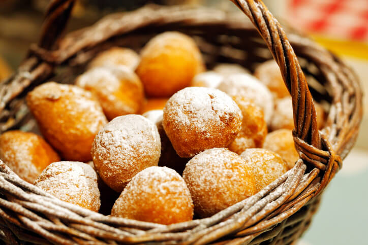 Fritule - fried dough food