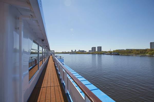 Sun Deck, MS Rossia