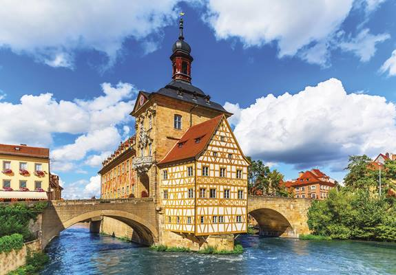 The beautiful city of Bamberg is best explored from the Main