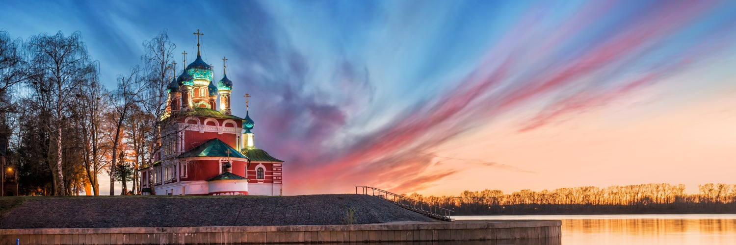 volga river architecture